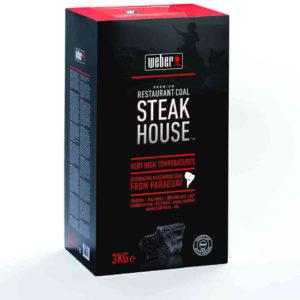 Weber Steak House Premium Restaurant Holzkohle 3 kg